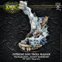 Trollblood Extreme Dire Troll Mauler RESIN
